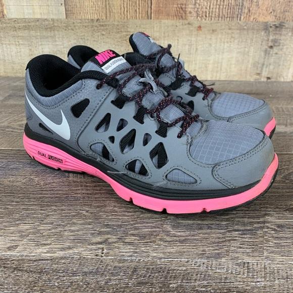Nike Dual Fusion Run 2 Youth Sz 5.5Y Running Shoe